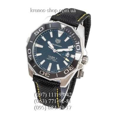 TAG Heuer Aquaracer 300 M Calibre 5 Black/Silver-Black/Black