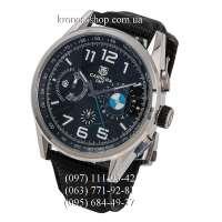 Tag Heuer Carrera BMW Power GMT Chronograph Black/Silver/Black