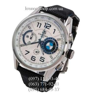 Tag Heuer Carrera BMW Power GMT Chronograph Black/Silver/White