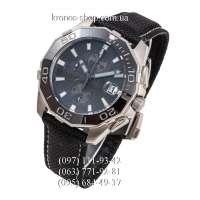Tag Heuer Aquaracer Chrono Calibre 5 Black/Silver/Black