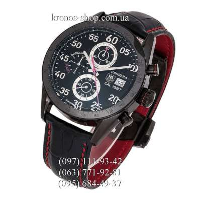 Tag Heuer Carrera Calibre 1887 Racing Chronograph All Black-Red