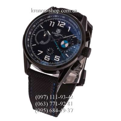 Tag Heuer Carrera BMW Power GMT Chronograph All Black