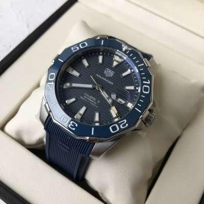 Tag Heuer Aquaracer 300 M Calibre 5 Blue/Silver/Blue
