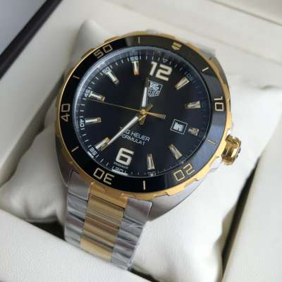 Tag Heuer Formula 1 Calibre 5 Automatic Steel Yellow Gold/Black