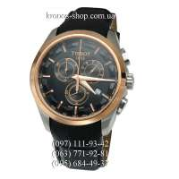 Tissot T-Classic Couturier Chronograph Black/Gold/Black