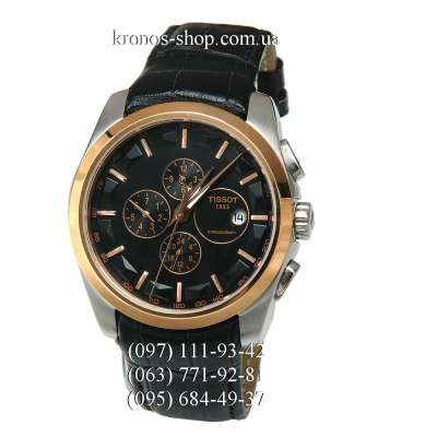 Tissot T-Classic Couturier Automatic Black/Gold/Black