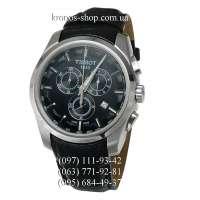 Tissot T-Classic Couturier Chronograph Black/Silver/Black