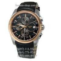 Tissot T-Classic Couturier Chronograph Alt Black/Gold/Black