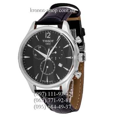 Tissot T-Classic Tradition Chronograph Black/Silver/Black