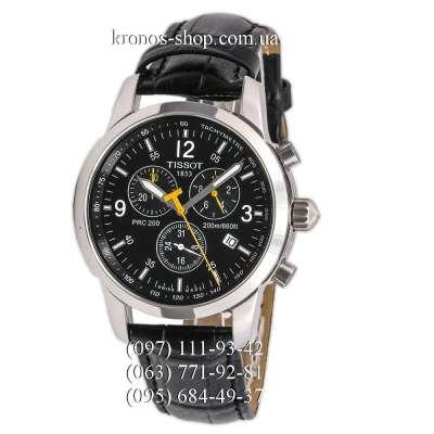 Tissot T-Sport PRC 200 Chronograph Black/Silver/Black-Yellow