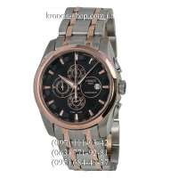 Tissot T-Classic Couturier Chronograph Steel Silver-Gold/Gold/Black