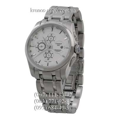 Tissot T-Classic Couturier Automatic Steel Silver/White