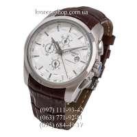 Tissot T-Classic Couturier Chronograph Alt Brown/Silver/White