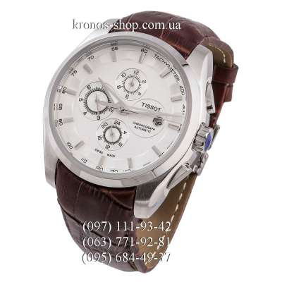 Tissot T-Classic Couturier Automatic Brown/Silver/White