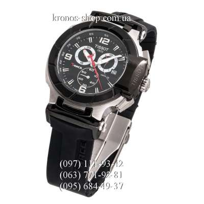 Tissot T-Race Chronograph Black/Silver-Black