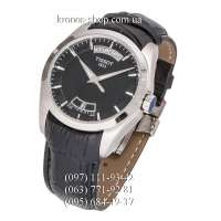 Tissot T-Classic Couturier Automatic Date-Weekday Black/Silver/Black