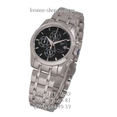 Tissot T-Classic Couturier Chronograph Lady Steel Silver/Black