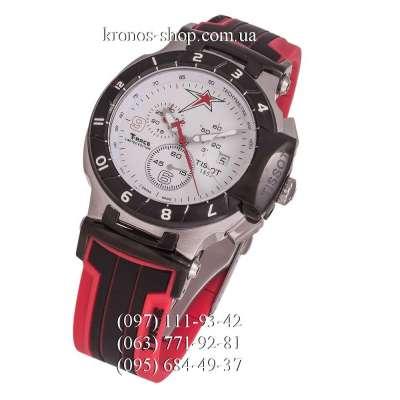 Tissot T-Race Nicky Hayden Chronograph Red-Black/Silver-Black/White
