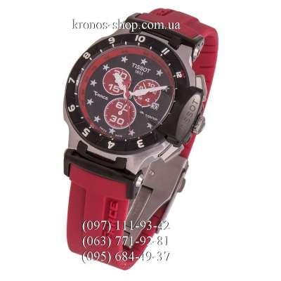 Tissot T-Race Nicky Hayden Chronograph Red/Silver-Black/Black-Red