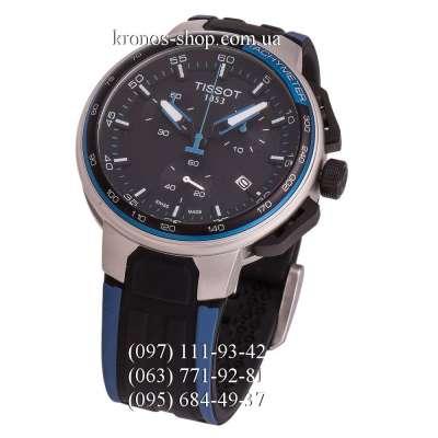 Tissot T-Race Cycling Chronograph Blue-Black/Silver/Black-Blue