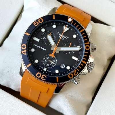 Tissot T-Sport Seastar 1000 Chronograph Black/Orange