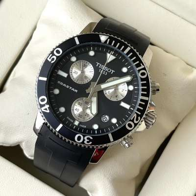 Tissot T-Sport Seastar 1000 Chronograph Black/White/Black