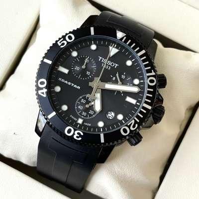 Tissot T-Sport Seastar 1000 Chronograph all Black