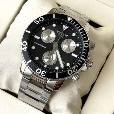 Tissot T-Sport Seastar 1000 Chronograph Bracelet Silver/Black/White
