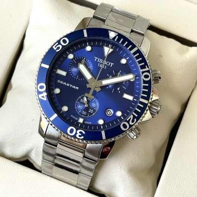 Tissot T-Sport Seastar 1000 Chronograph Bracelet Silver/Blue