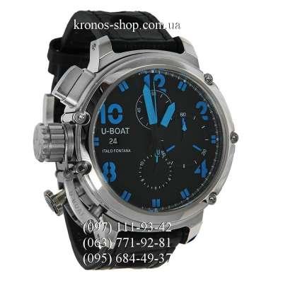 U-Boat Italo Fontana Chimera Chronograph Black/Silver/Blue