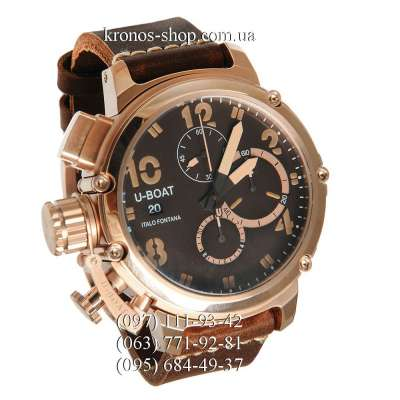 U-Boat Italo Fontana Chimera Chronograph Brown Edition