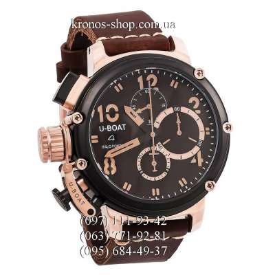 U-Boat Italo Fontana Chimera Chronograph Brown/Gold-Black/Brown