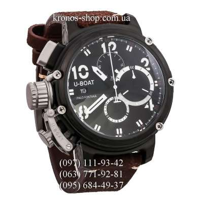 U-Boat Italo Fontana Chimera Chronograph Brown/Black/Black-White