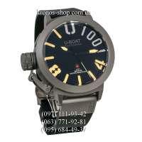 U-Boat Italo Fontana Classico U-1001 Black/Grey/Black-Yellow