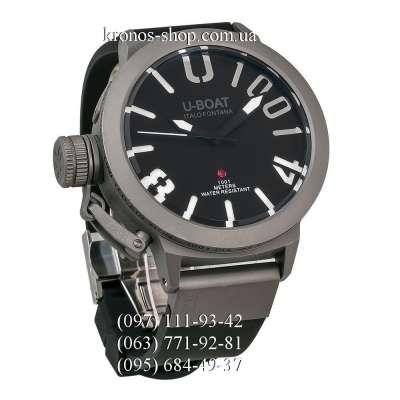 U-Boat Italo Fontana Classico U-1001 Black/Grey/Black-White