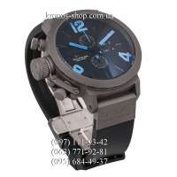 U-Boat Italo Fontana Classico Tungsteno Chronograph Black/Grey/Black-Blue