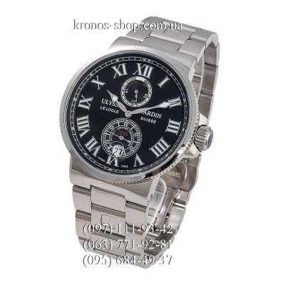 Ulysse Nardin Marine Chronometer Steel Silver/Black