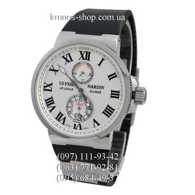 Ulysse Nardin Marine Chronometer Black/Silver/White