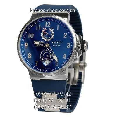 Ulysse Nardin Maxi Marine Chronometer Manufacture Blue/Silver/Blue