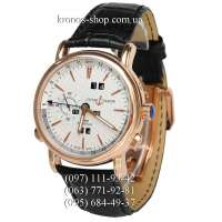 Ulysse Nardin Classic GMT Perpetual Black/Gold/White