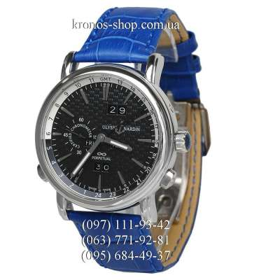 Ulysse Nardin Classic GMT Perpetual Blue/Silver/Black