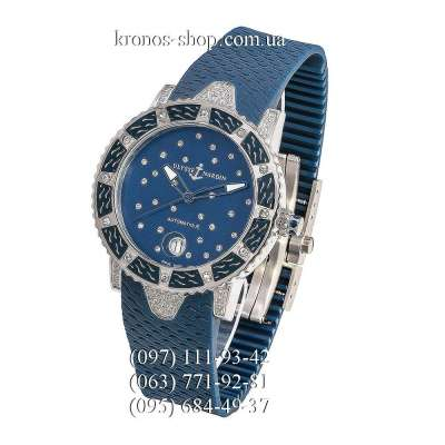 Ulysse Nardin Marine Lady Diver Starry Night Blue/Silver/Blue