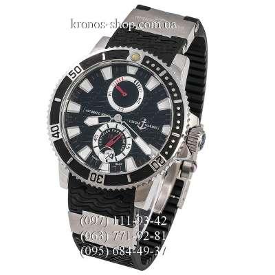 Ulysse Nardin Maxi Marine Diver Chronometer Black/Silver/Black