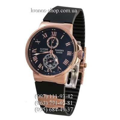 Ulysse Nardin Marine Chronometer Quartz Black/Gold/Black