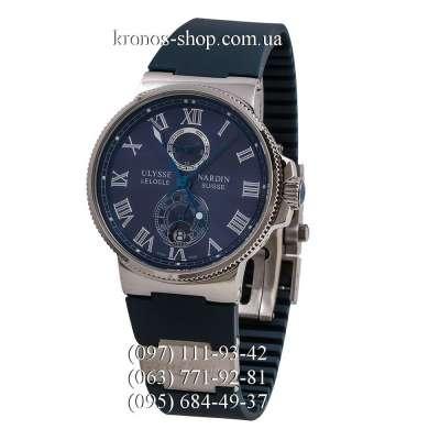 Ulysse Nardin Marine Chronometer Quartz Blue/Silver/Blue