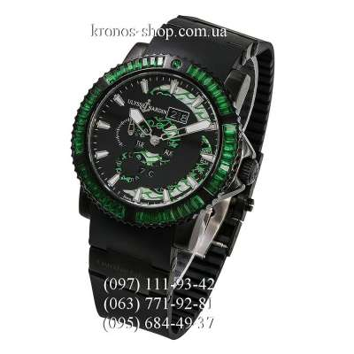Ulysse Nardin Diver Marine Perpetual Green Spinel All Black/Green