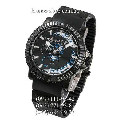 Ulysse Nardin Diver Marine Perpetual Black Spinel All Black