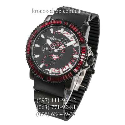Ulysse Nardin Diver Marine Perpetual Red Spinel All Black/Red