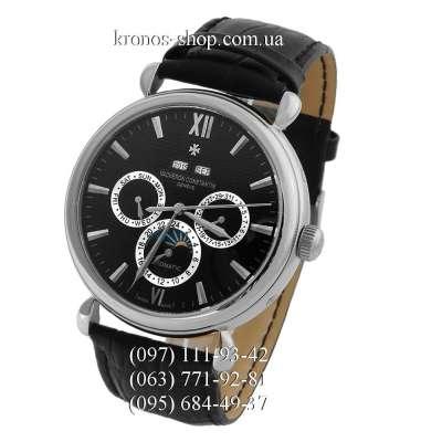 Vacheron Constantin Malte Perpetual Calendar Chronograph Black/Silver/Black