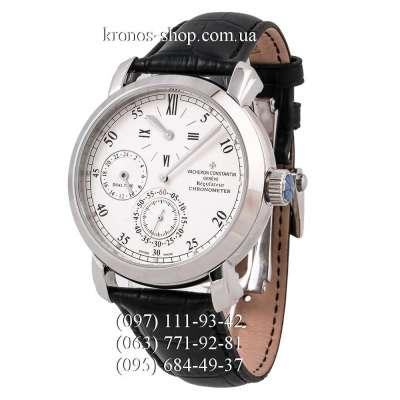 Vacheron Constantin Malte Dual Time Regulator Black/Silver/White